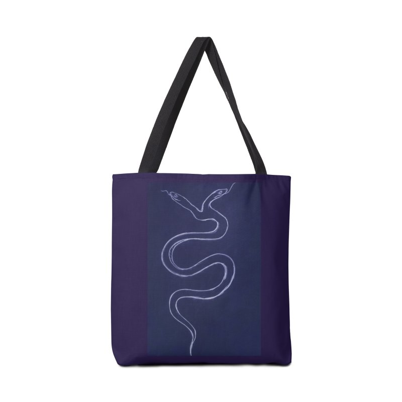 Serpentine the Tangerine Accessories Bag by Beautifully Grotesque Artist Shop