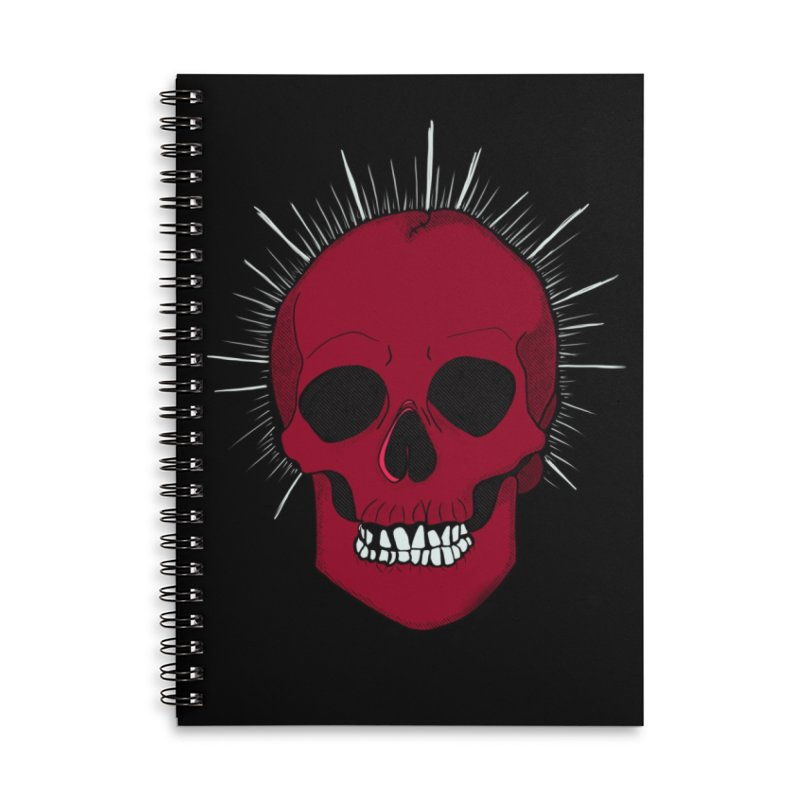 Saint Horror Accessories Notebook by Beautifully Grotesque Artist Shop