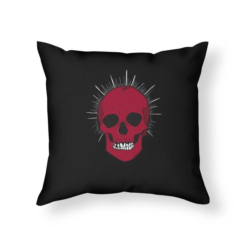 Saint Horror Home Throw Pillow by Beautifully Grotesque Artist Shop