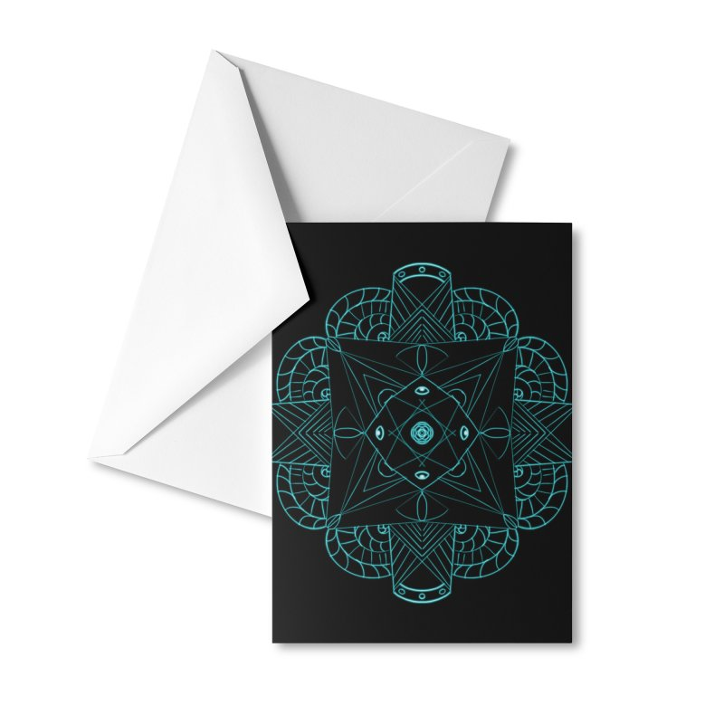 Sigil 2. Accessories Greeting Card by Beautifully Grotesque Artist Shop