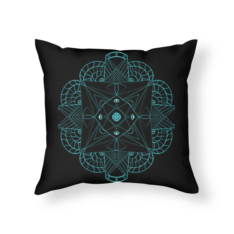 Sigil 2. Home Throw Pillow by Beautifully Grotesque Artist Shop