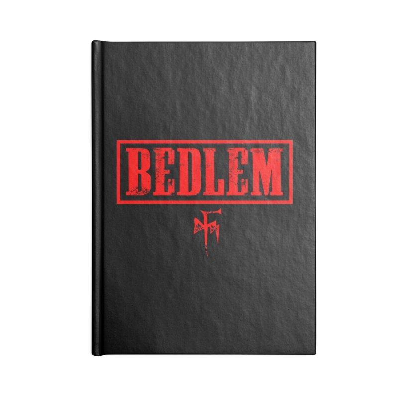 BEDLEM 2017 SYFTS red Accessories Lined Journal Notebook by BedlemMerch's Artist Shop