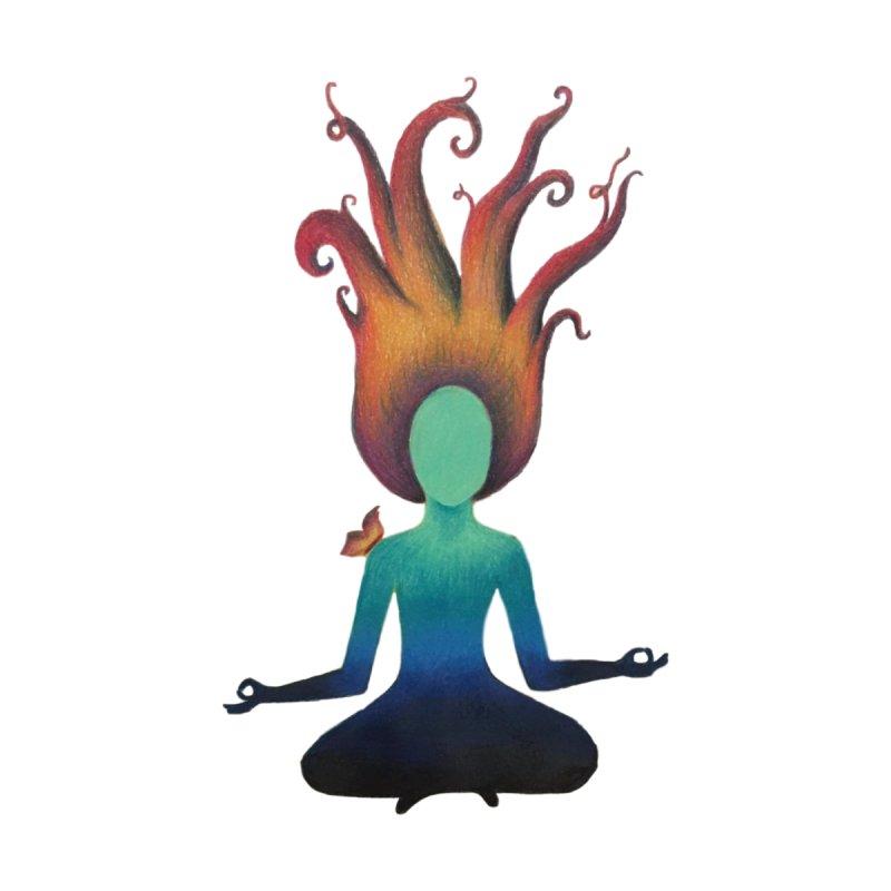 Meditation Girl by Beingmindful's Artist Shop