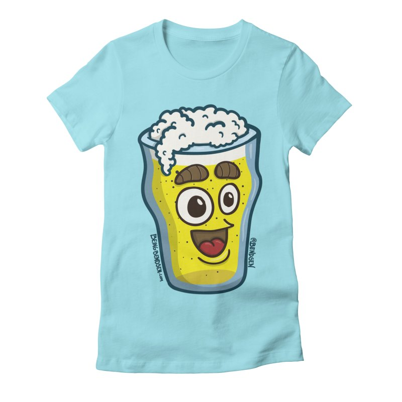 Cheers, mate! Women's Fitted T-Shirt by Bendsen's Shop