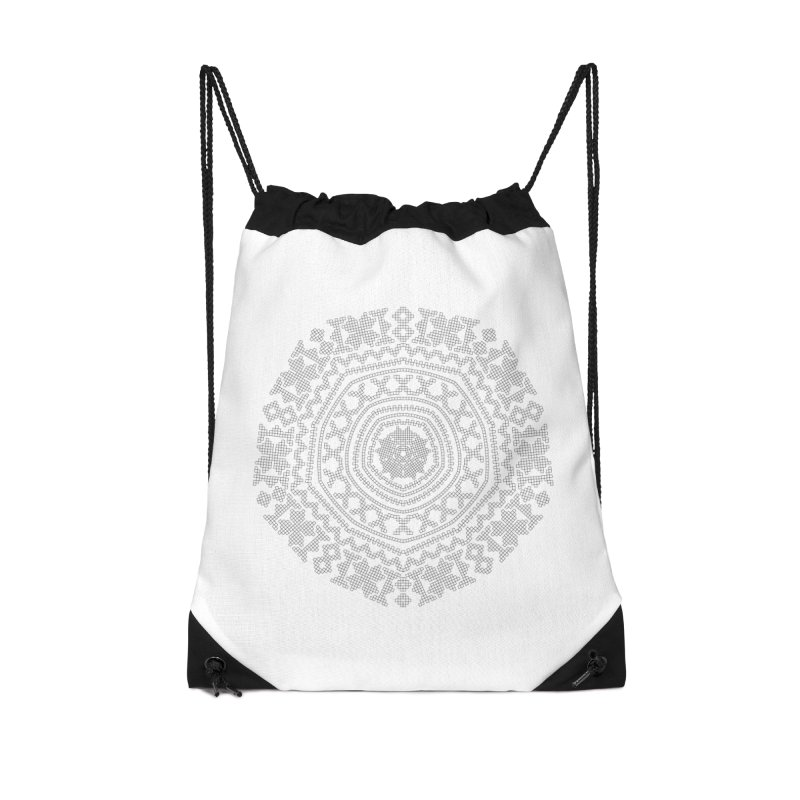 Nordic Pattern in Drawstring Bag by Beneath Northern Lights.com Shop
