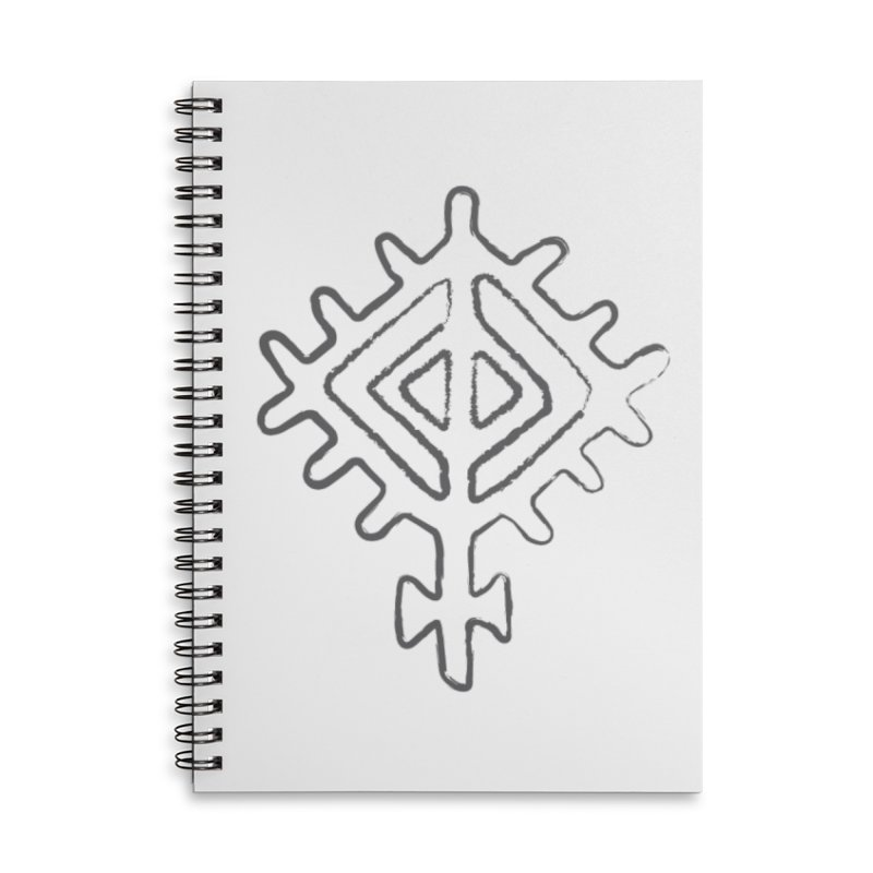 Midsummer Sun in Lined Spiral Notebook by Beneath Northern Lights.com Shop