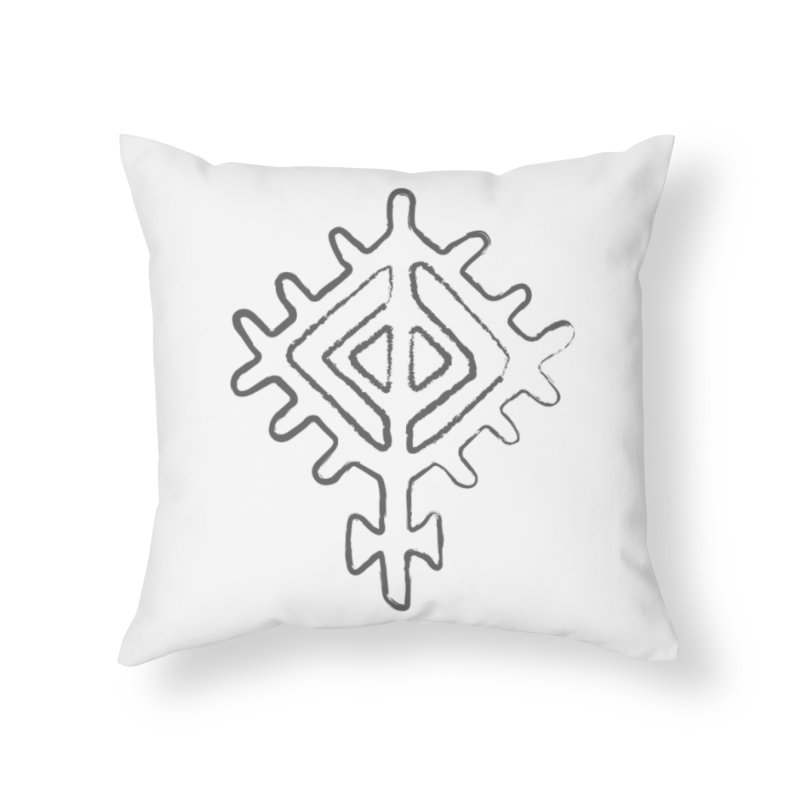 Midsummer Sun in Throw Pillow by Beneath Northern Lights.com Shop