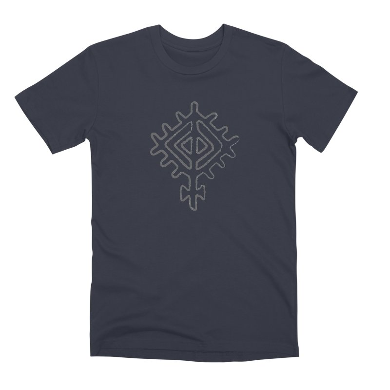 Midsummer Sun in Men's Premium T-Shirt Midnight by Beneath Northern Lights.com Shop