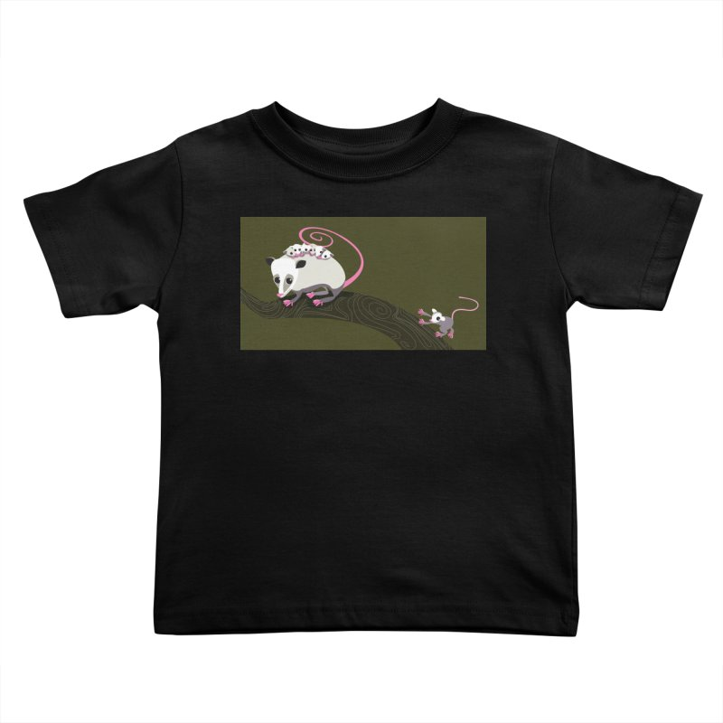 Possums Kids Toddler T-Shirt by BestFriends's Artist Shop