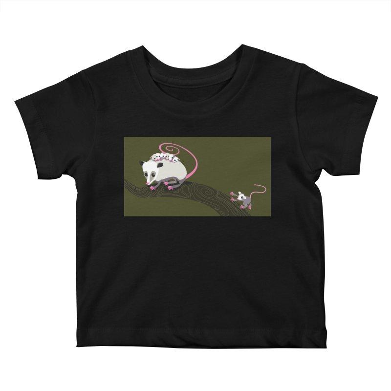 Possums Kids Baby T-Shirt by BestFriends's Artist Shop