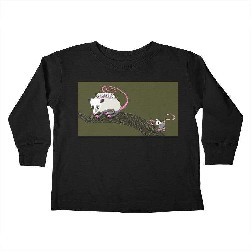 Possums Kids Toddler Longsleeve T-Shirt by BestFriends's Artist Shop