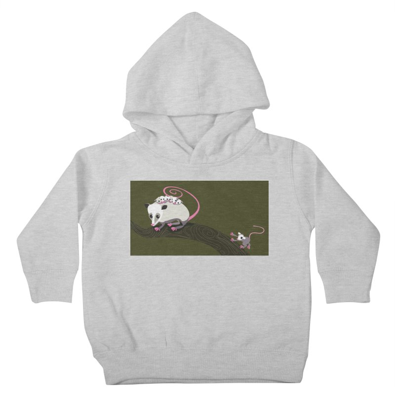 Possums Kids Toddler Pullover Hoody by BestFriends's Artist Shop