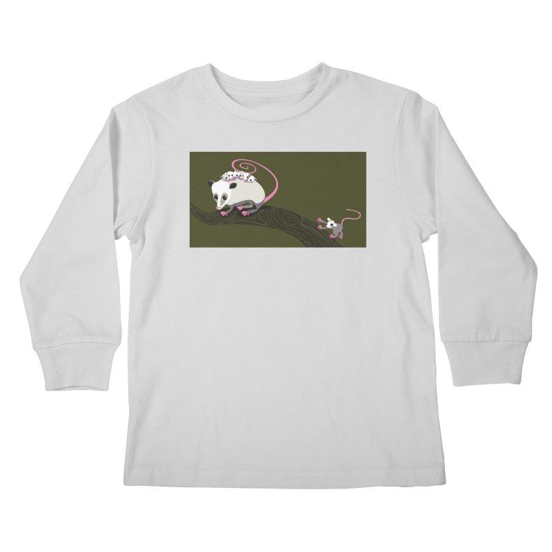 Possums Kids Longsleeve T-Shirt by BestFriends's Artist Shop