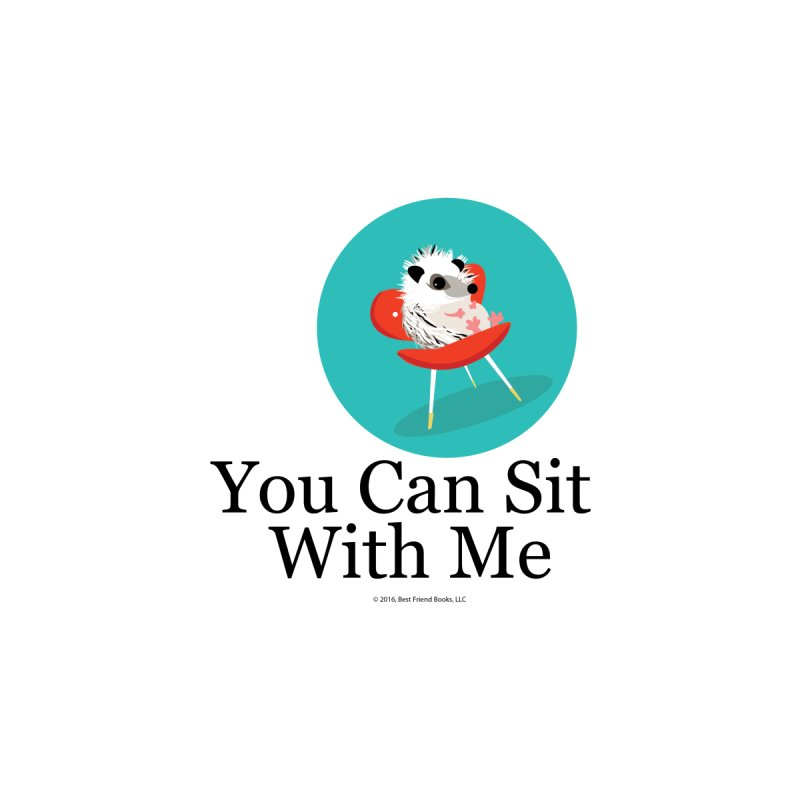 You Can Sit With Me - Circle Men's Pullover Hoody by BestFriends's Artist Shop