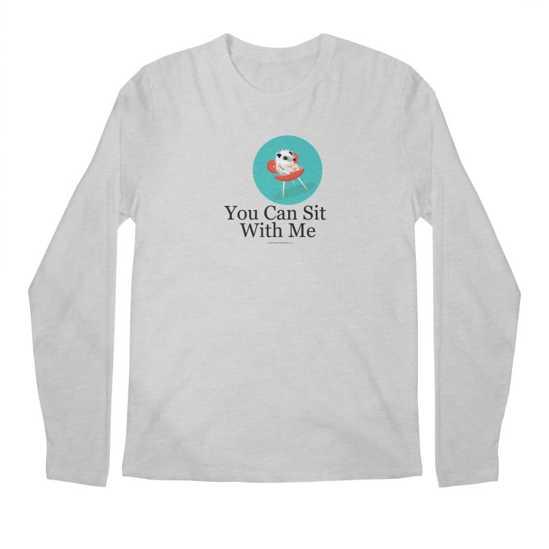 You Can Sit With Me - Circle Men's Longsleeve T-Shirt by BestFriends's Artist Shop