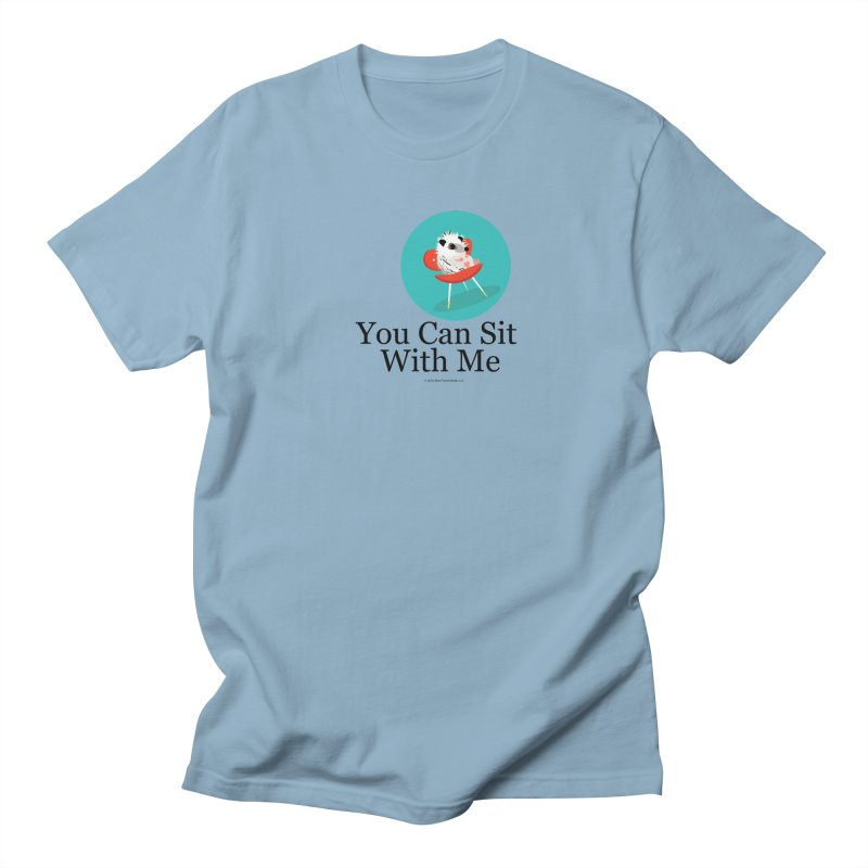 You Can Sit With Me - Circle Men's T-Shirt by BestFriends's Artist Shop