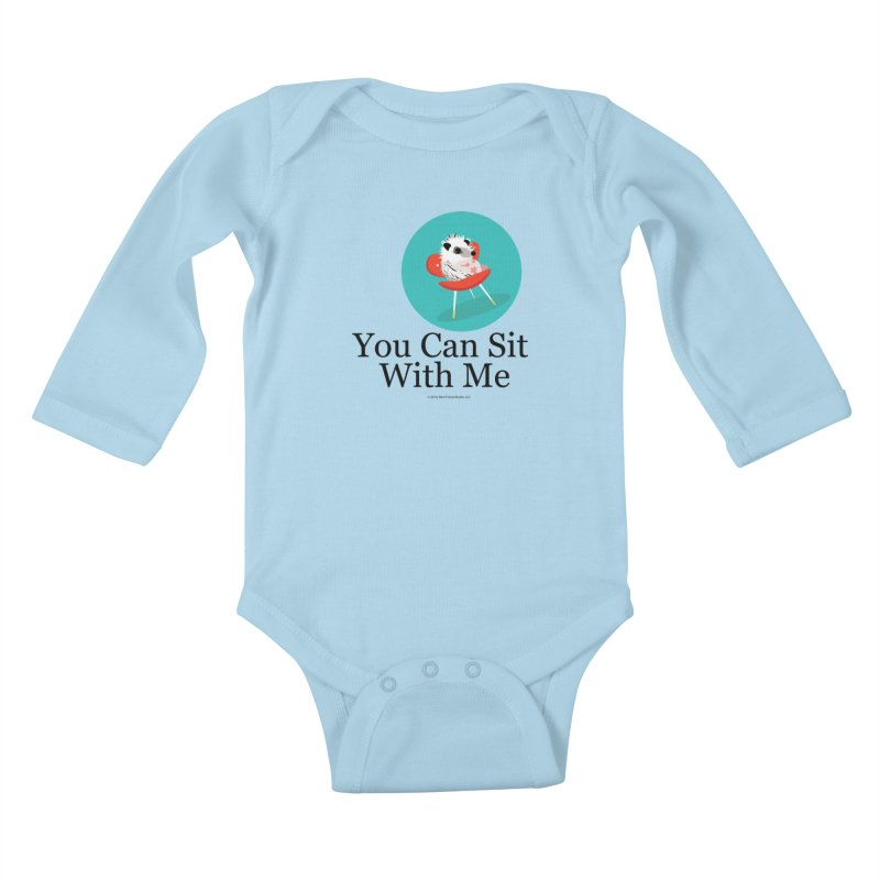 You Can Sit With Me - Circle Kids Baby Longsleeve Bodysuit by BestFriends's Artist Shop