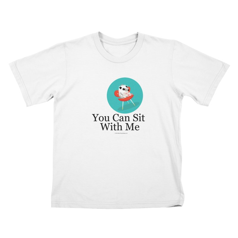 You Can Sit With Me - Circle Kids T-Shirt by BestFriends's Artist Shop