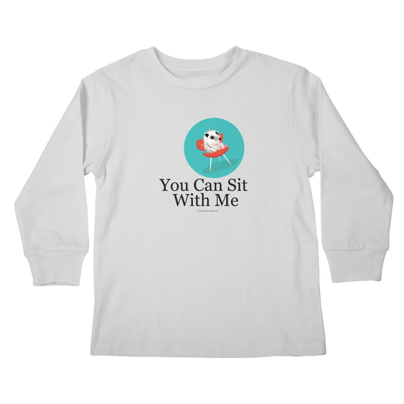 You Can Sit With Me - Circle Kids Longsleeve T-Shirt by BestFriends's Artist Shop