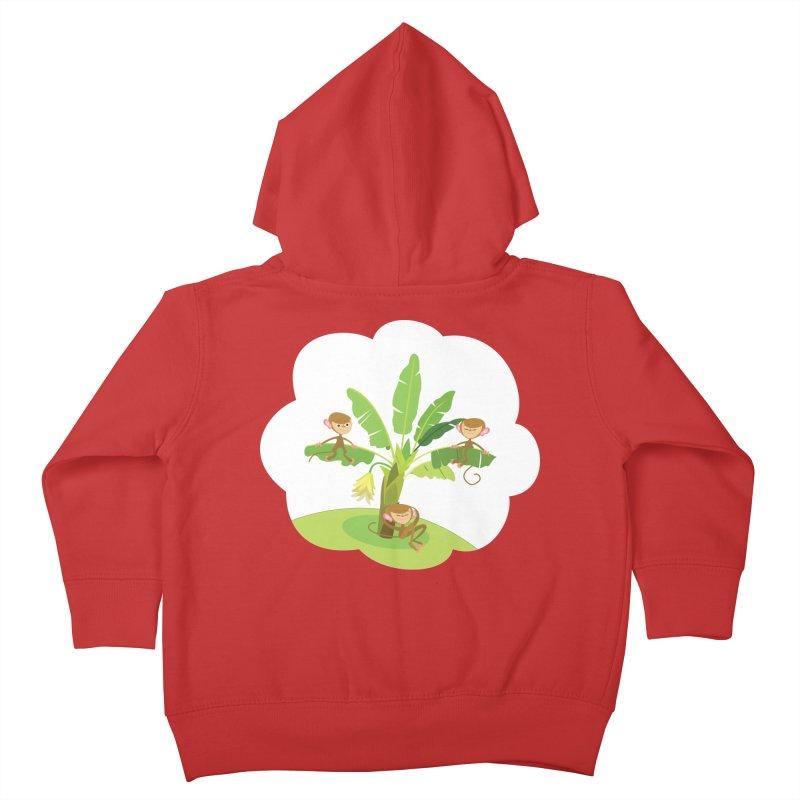 Banana Tree Kids Toddler Zip-Up Hoody by BestFriends's Artist Shop