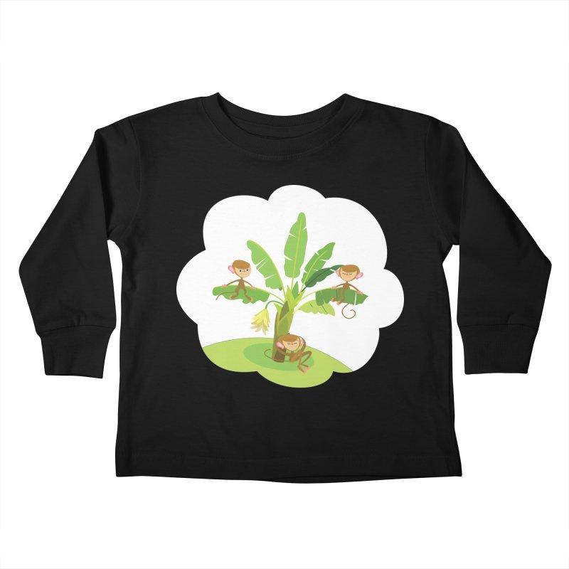 Banana Tree Kids Toddler Longsleeve T-Shirt by BestFriends's Artist Shop