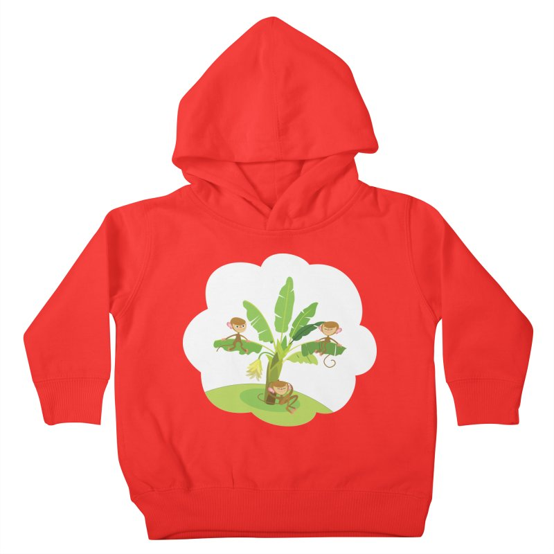 Banana Tree Kids Toddler Pullover Hoody by BestFriends's Artist Shop