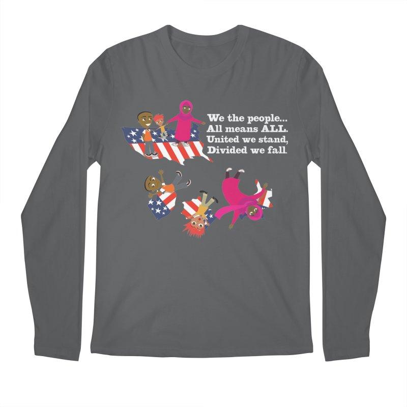 All Means All Men's Longsleeve T-Shirt by BestFriends's Artist Shop