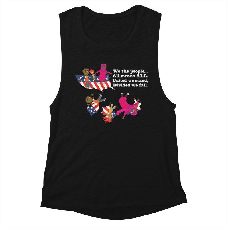 All Means All Women's Tank by BestFriends's Artist Shop