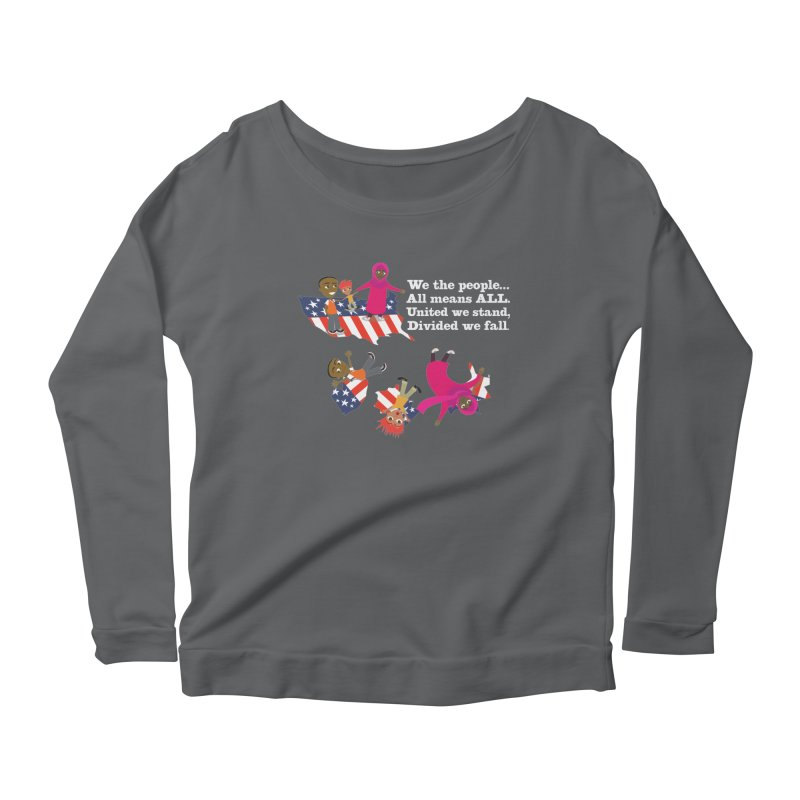 All Means All Women's Longsleeve T-Shirt by BestFriends's Artist Shop