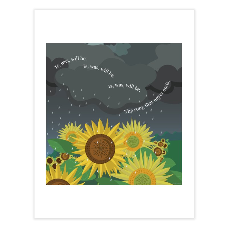 Is, Was, Will Be Home Fine Art Print by BestFriends's Artist Shop