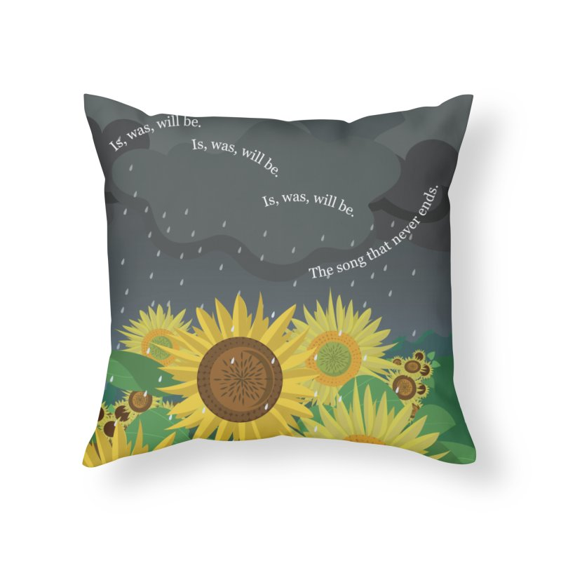 Is, Was, Will Be Home Throw Pillow by BestFriends's Artist Shop