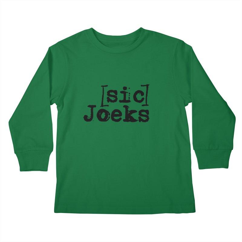 [sic] Joeks Logo Kids Longsleeve T-Shirt by BestMarkMiller's Artist Shop