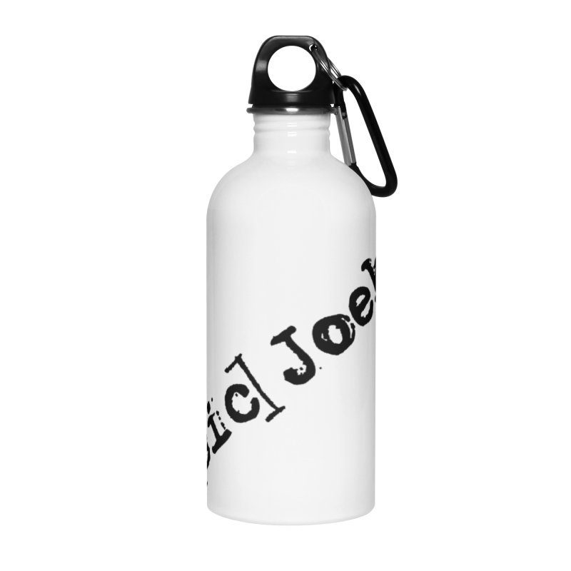 [sic] Joeks Logo Accessories Water Bottle by BestMarkMiller's Artist Shop