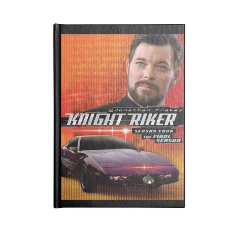 Knight Riker Accessories Blank Journal Notebook by BestMarkMiller's Artist Shop