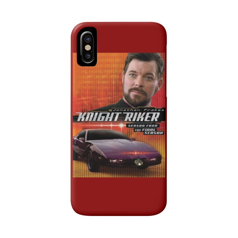 Knight Riker Accessories Phone Case by BestMarkMiller's Artist Shop