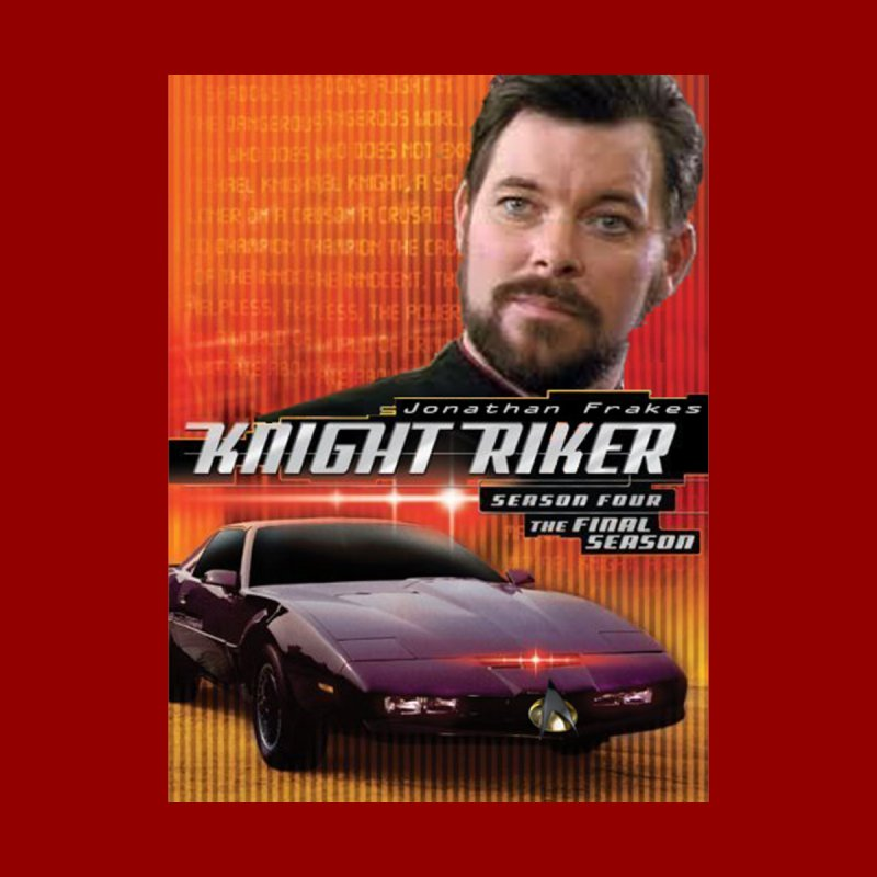 Knight Riker Men's T-Shirt by BestMarkMiller's Artist Shop