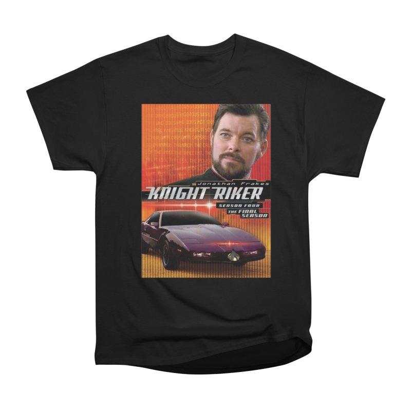 Knight Riker Men's Heavyweight T-Shirt by BestMarkMiller's Artist Shop