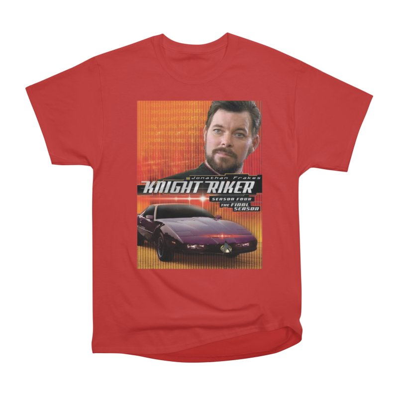 Knight Riker Women's Heavyweight Unisex T-Shirt by BestMarkMiller's Artist Shop