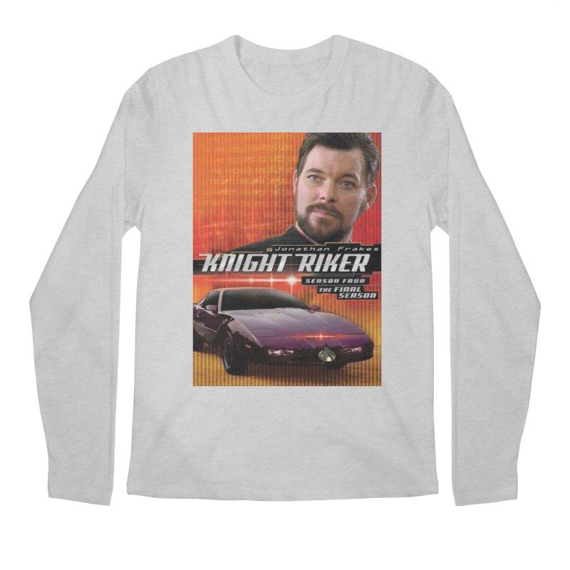 Knight Riker Men's Regular Longsleeve T-Shirt by BestMarkMiller's Artist Shop