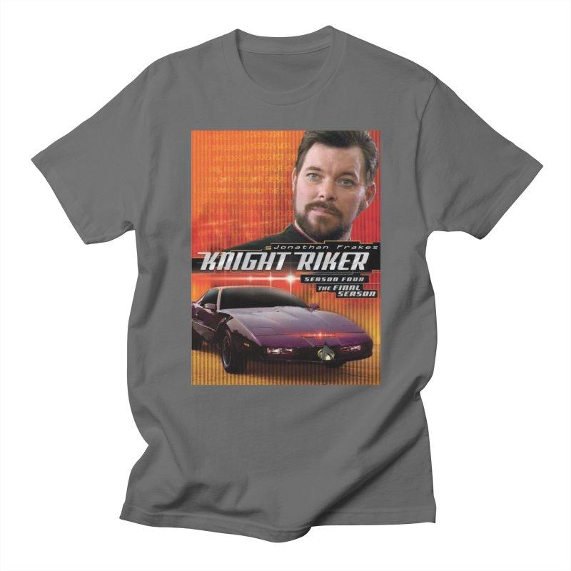 Knight Riker Men's T-Shirt by BestMarkMiller's Artist Shop