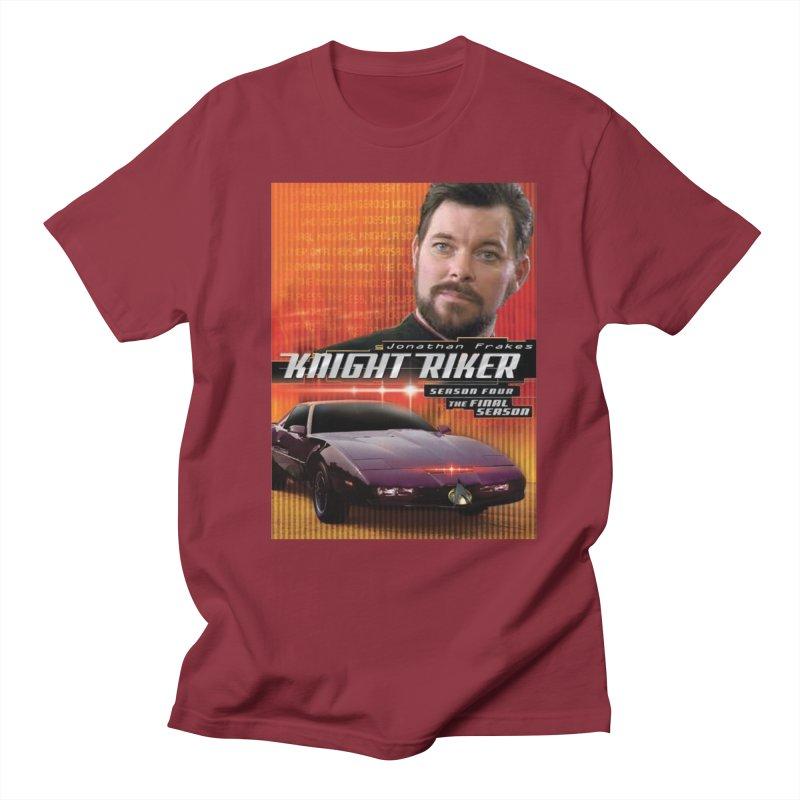 Knight Riker Men's Regular T-Shirt by BestMarkMiller's Artist Shop