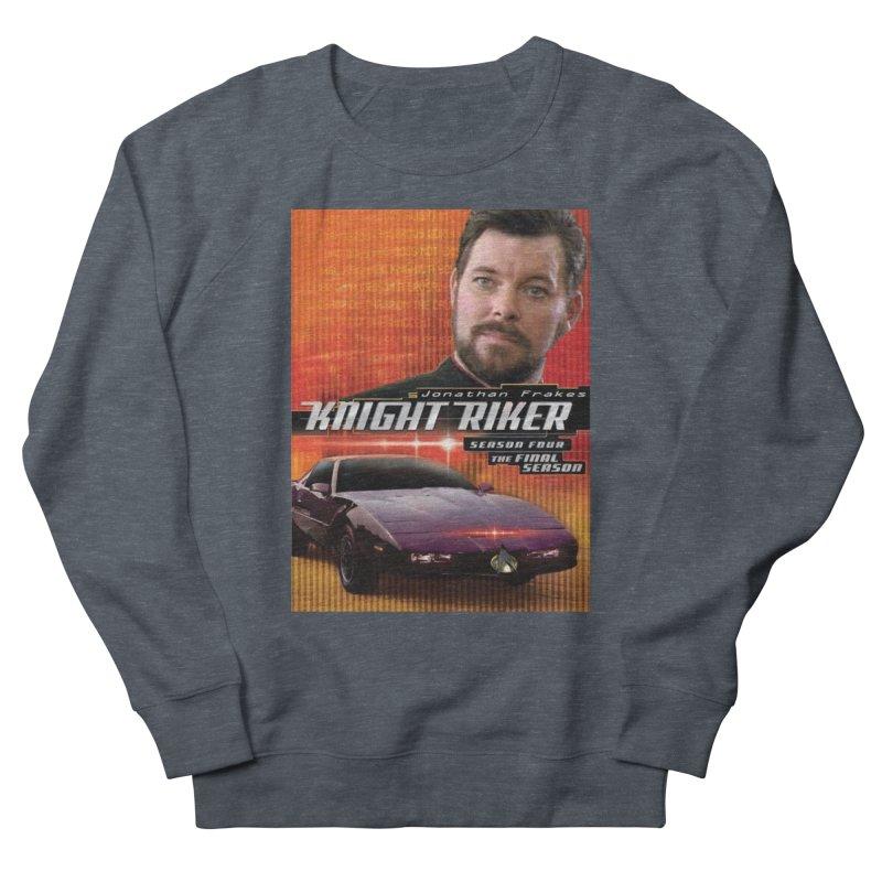 Knight Riker Men's French Terry Sweatshirt by BestMarkMiller's Artist Shop