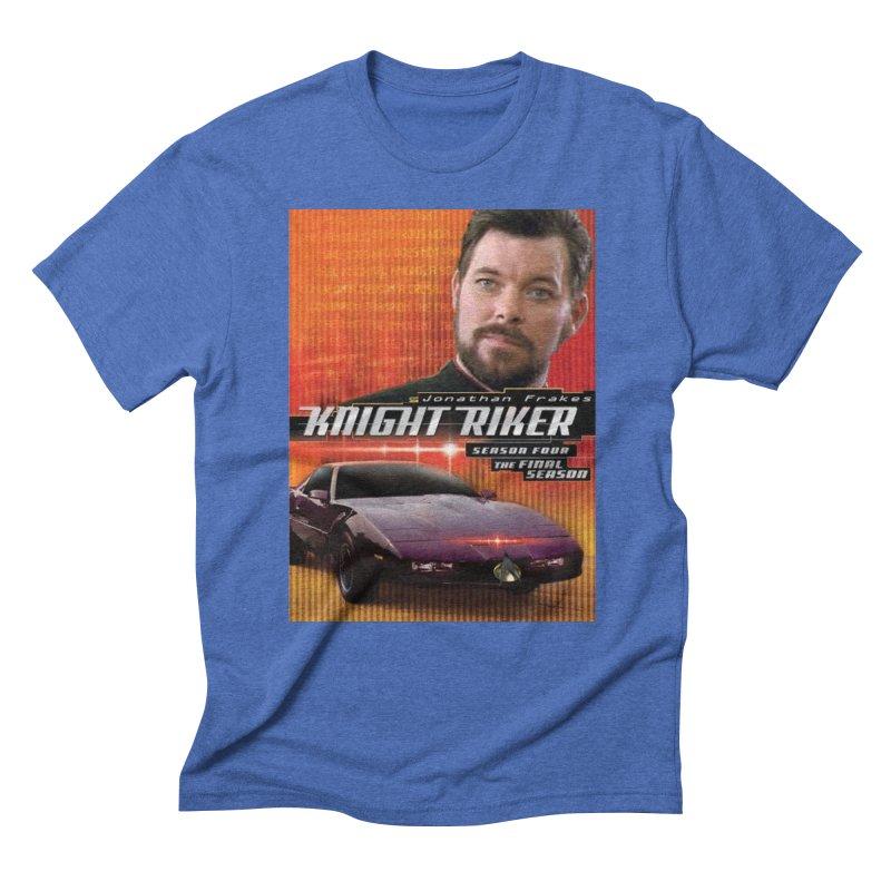 Knight Riker Men's Triblend T-Shirt by BestMarkMiller's Artist Shop