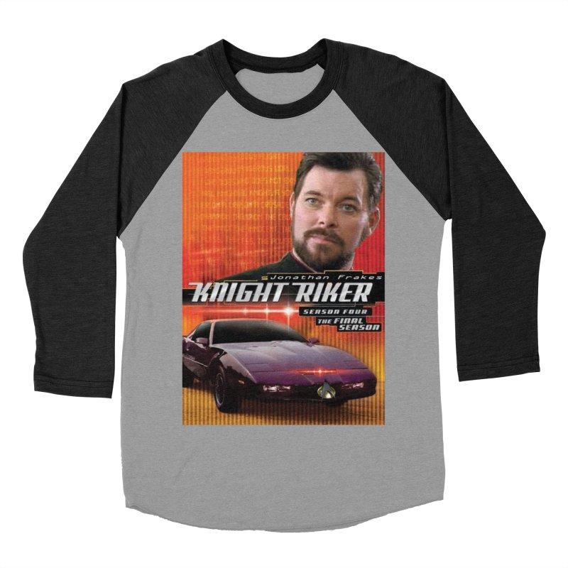 Knight Riker Women's Baseball Triblend Longsleeve T-Shirt by BestMarkMiller's Artist Shop