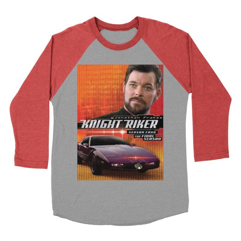 Knight Riker Men's Baseball Triblend Longsleeve T-Shirt by BestMarkMiller's Artist Shop
