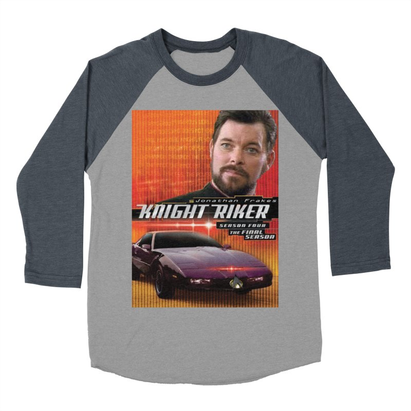 Knight Riker Men's Baseball Triblend Longsleeve T-Shirt by BestMarkMiller's Artist Shop