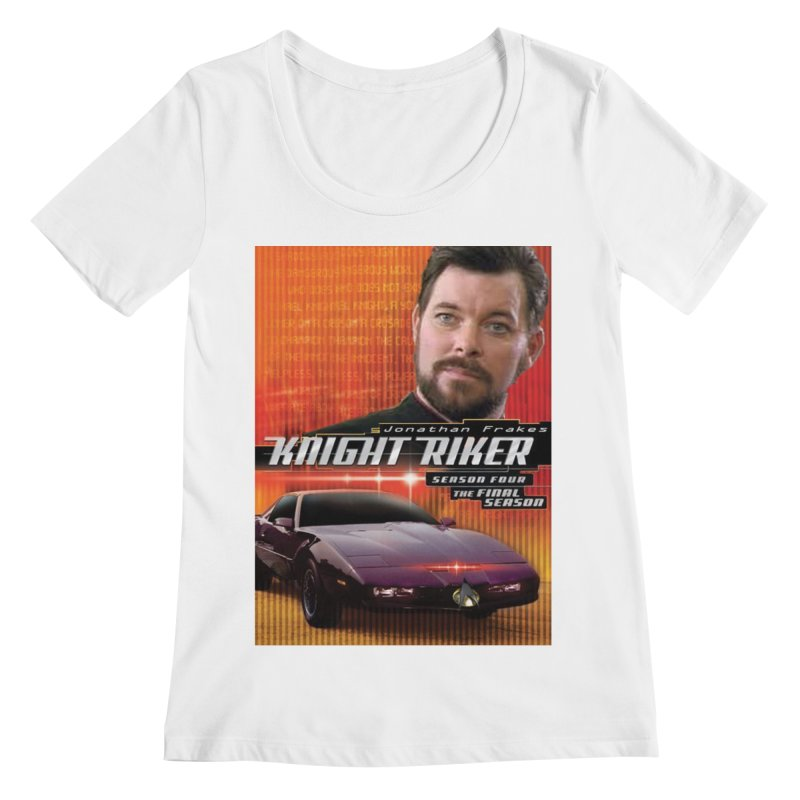 Knight Riker Women's Regular Scoop Neck by BestMarkMiller's Artist Shop