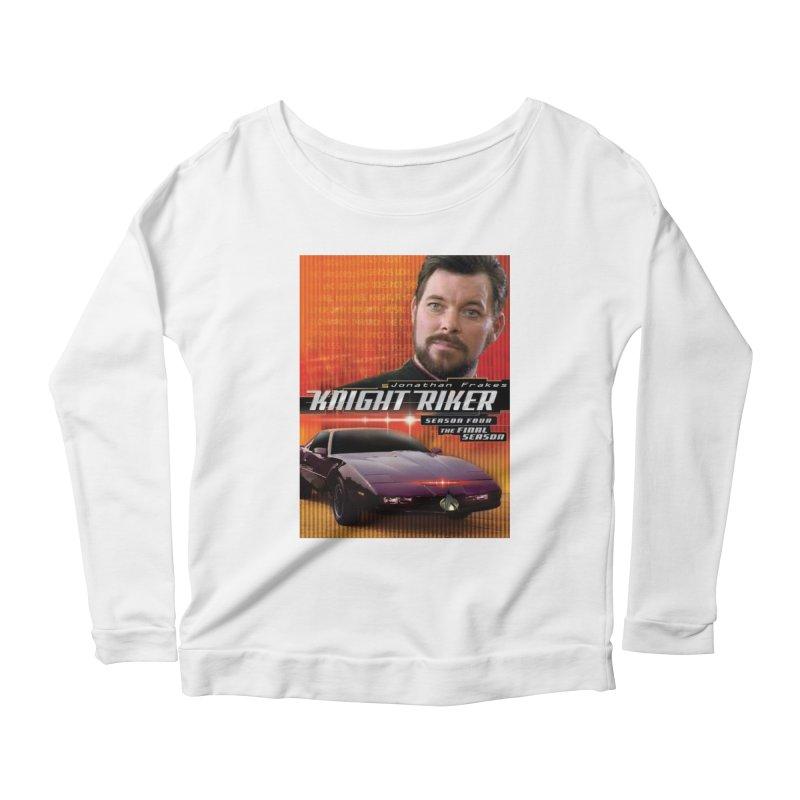 Knight Riker Women's Scoop Neck Longsleeve T-Shirt by BestMarkMiller's Artist Shop