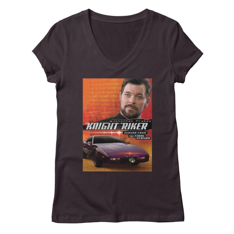 Knight Riker Women's Regular V-Neck by BestMarkMiller's Artist Shop