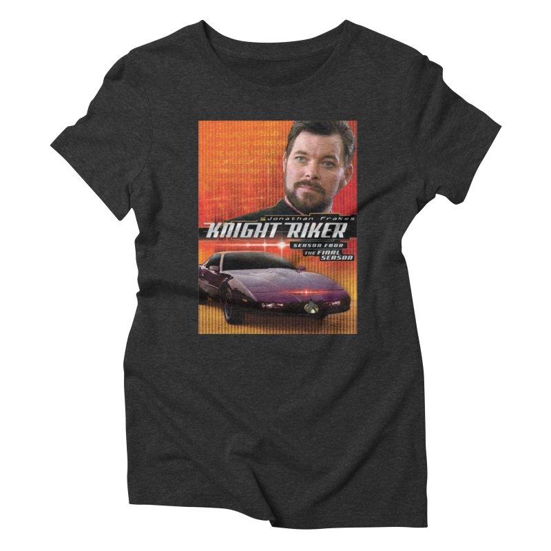Knight Riker Women's Triblend T-Shirt by BestMarkMiller's Artist Shop